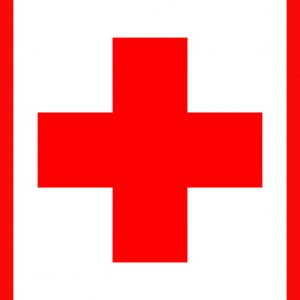 red cross, first aid, help